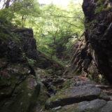 奥多摩から大岳山ー御岳山 縦走 御岳のロックガーデンはかなり美しい
